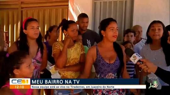 Meu bairro na TV visita o bairro Tiradentes em Juazeiro do Norte