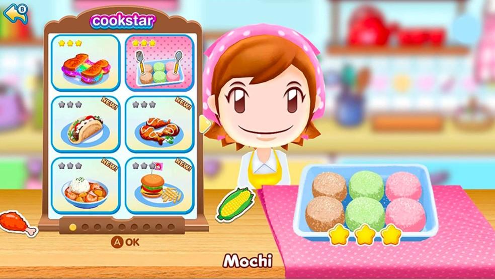 Cooking Mama: Cookstar tem receitas do mundo todo — Foto: Divulgação/Marvelous