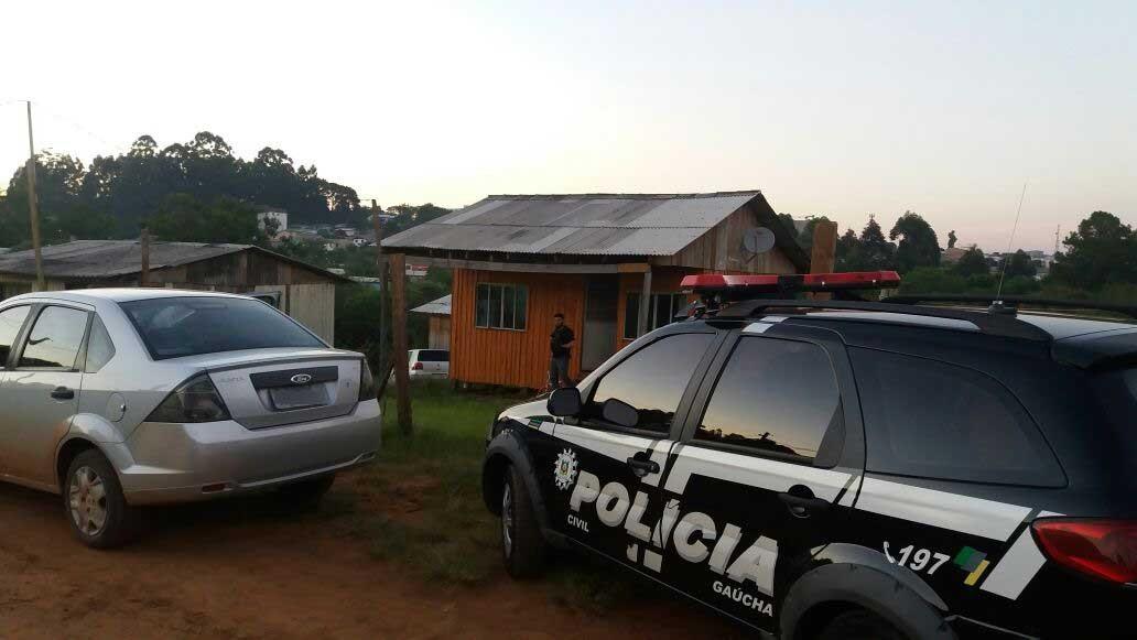 Polícia faz operação para prender suspeitos de participação em latrocínio em Passo Fundo