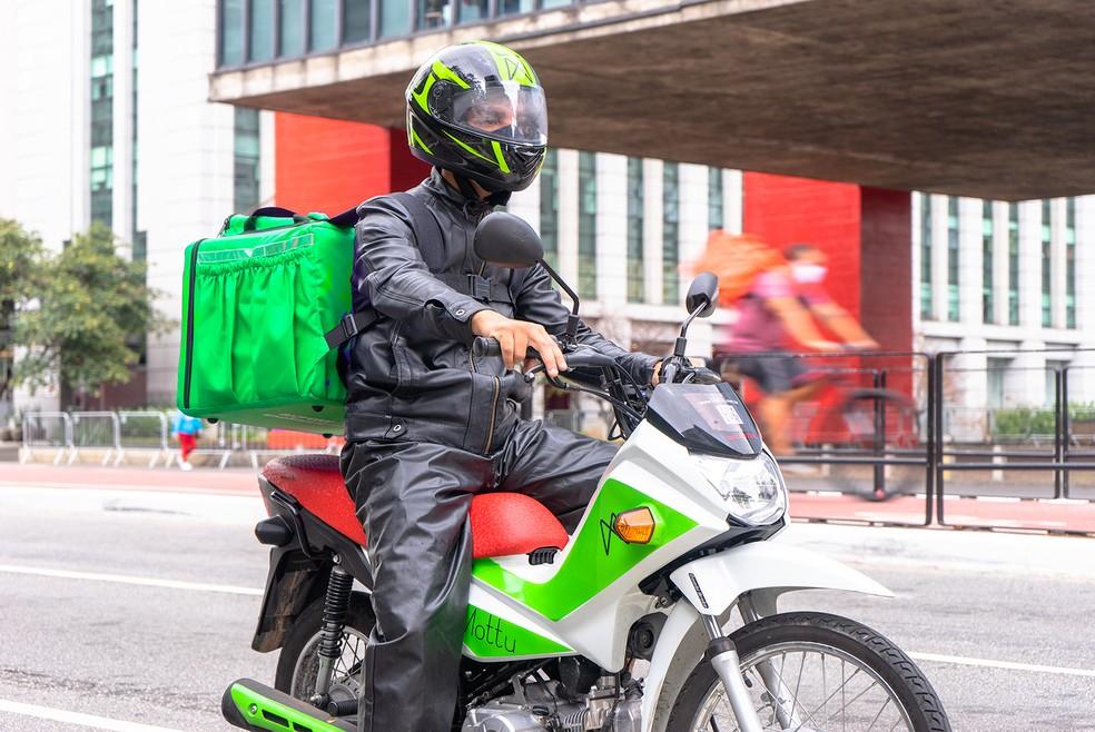 Startup aposta no aluguel de motos como alternativa para entregadores