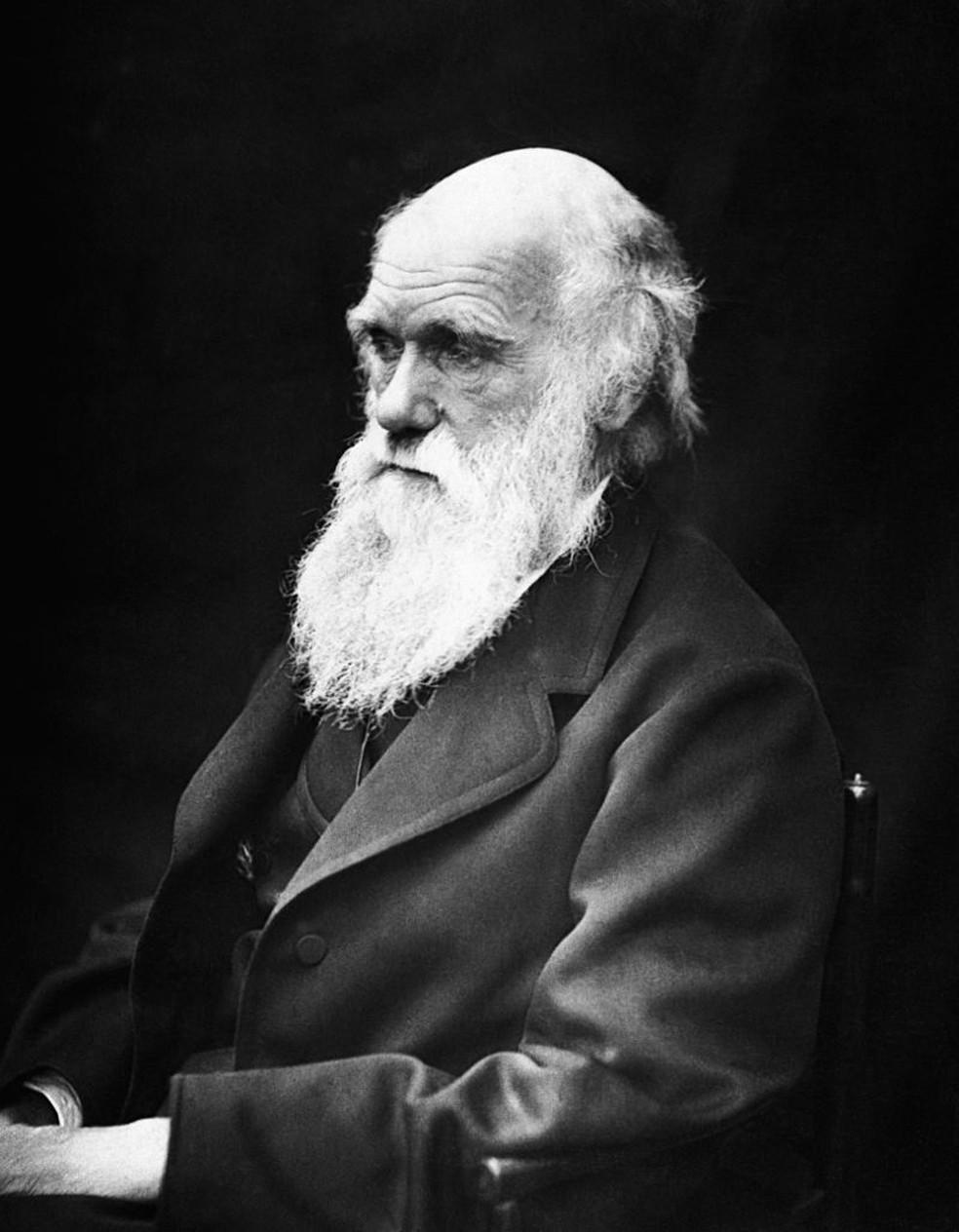 Charles Darwin  — Foto: J. Cameron/Wikimedia Commons