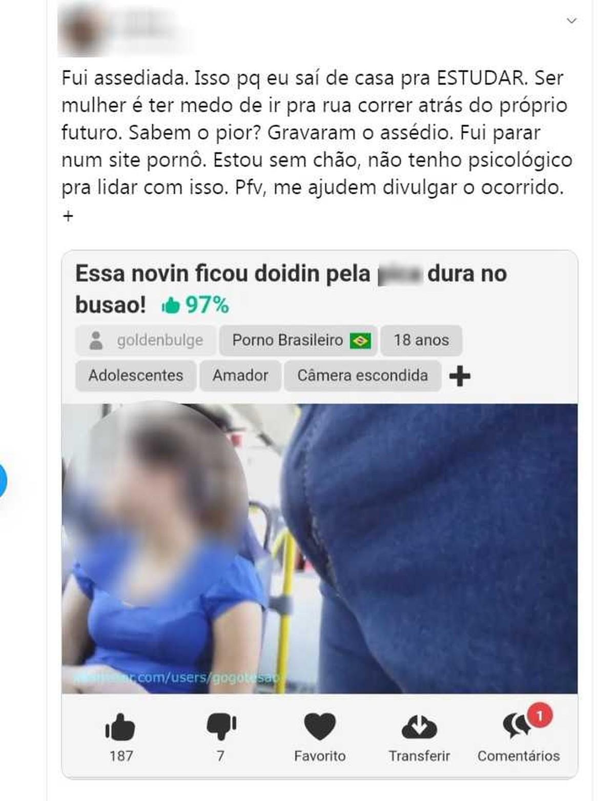 Abusso Internado Mas Ulino Porno adolescente assediada em ônibus encontra vídeo do abuso em