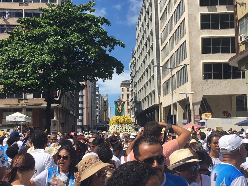Lavagem do Bonfim 2019 — Foto: Itana Alencar/G1 Bahia