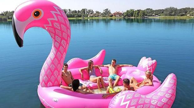 Iate inflável  (Foto: Reprodução/ Amazon)
