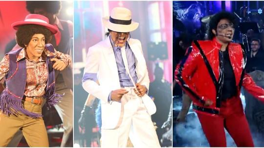 Michael Jackson é o artista mais vezes homenageado no 'Show dos Famosos'; relembre!