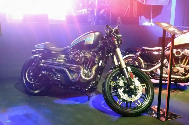 Harley-Davidson Sportster T1 (Roadster) (Foto: Alexandre Izo)