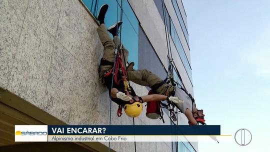 """""""Vai Encarar?"""" faz alpinismo predial para mostrar o trabalho de quem ganha a vida nas alturas"""