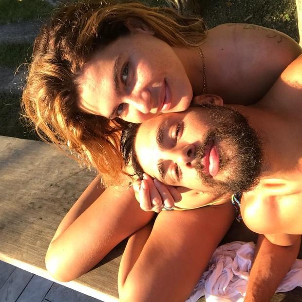 Cauã Reymond e Mariana Goldfarb (Foto: Reprdoução/Instagram)