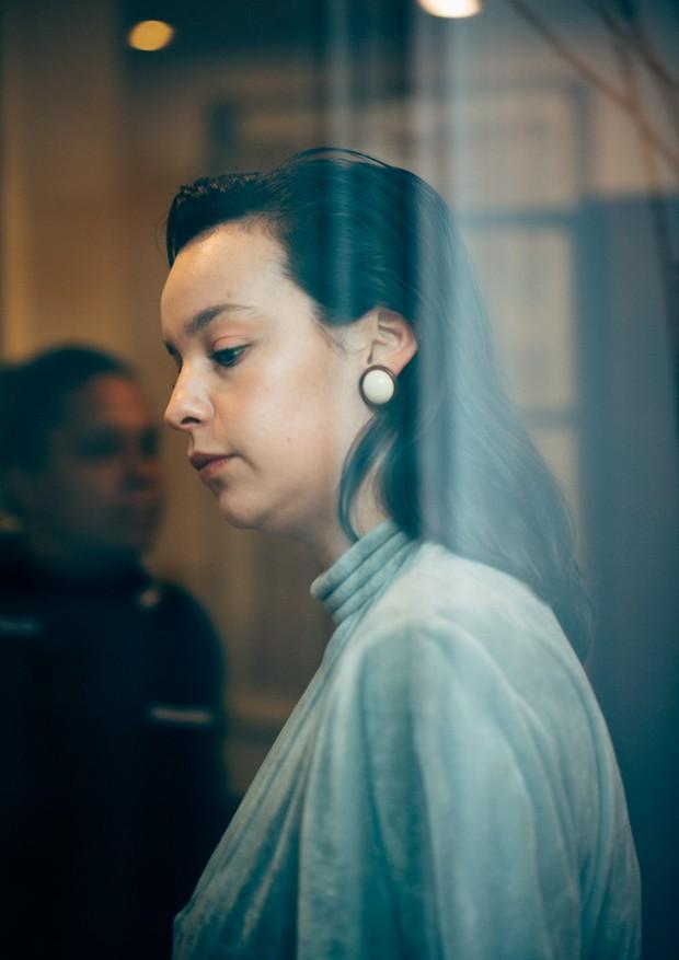Antonia Petta, diretora digital da Vogue, participou das atividades e foi registrada por Alex (Foto: Alex Libotte/Divulgação)