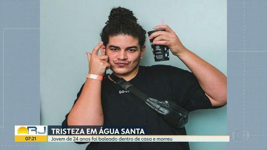 Pai encontra filho baleado e morto dentro de casa em Água Santa, na Zona Norte do Rio