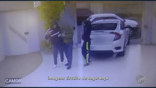 Vídeo mostra família sendo rendida por grupo durante assalto em Mogi Guaçu