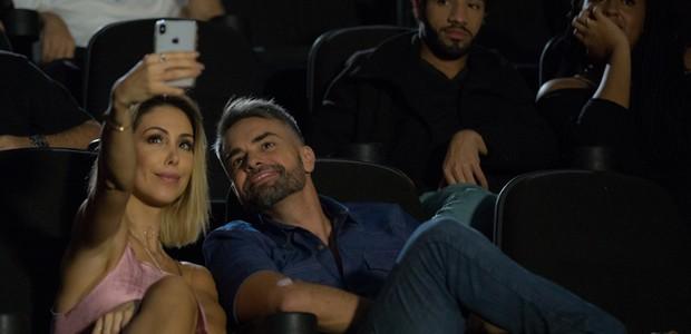 Bella Falconi e Marcio Kieling (Foto: Vitor Branco/Divulgação)