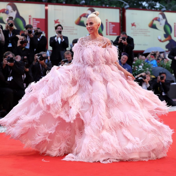 Lady Gaga no Festival de Cinema de Veneza em 2018 (Foto: Getty Images)