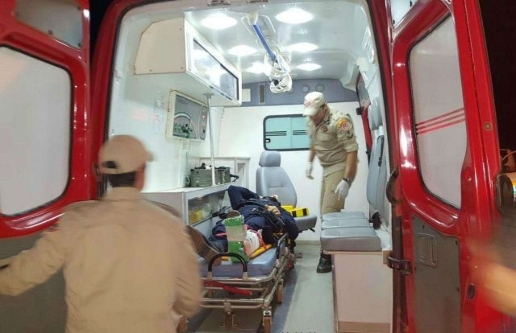 Sargento da PM é atropelado ao tentar abordar motociclista em Rolim de Moura