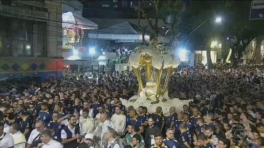 Romarias em Belém marcam as comemorações do Círio de Nossa Senhora de Nazaré