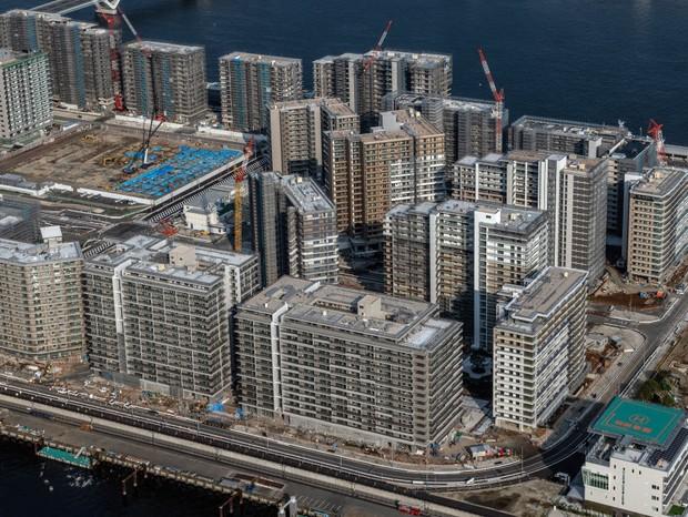 Vila Olímpica de Tóquio: os conceitos, escolhas e o curioso décor reduzido (Foto: Getty Images)