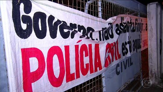 Desembargador determina fim da greve da Polícia Civil do RN; multa é de R$ 15 mil em caso de descumprimento