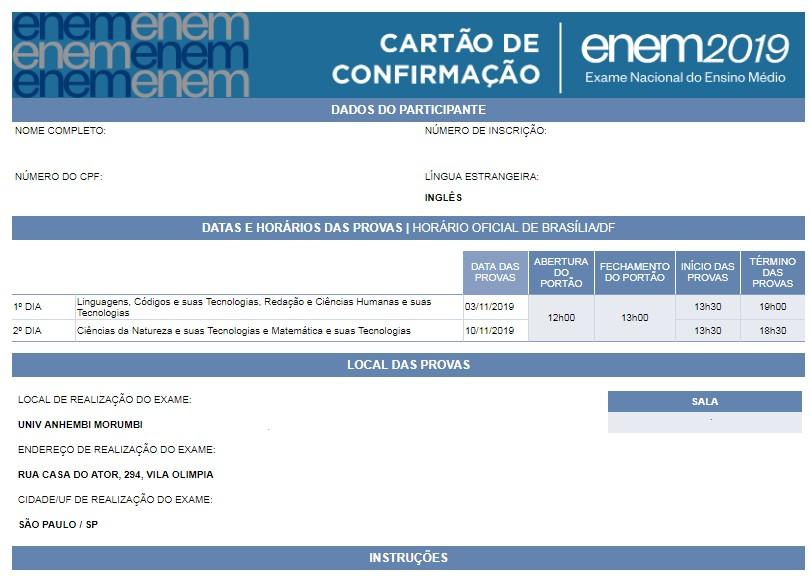 Enem 2019: mais de 119 mil inscritos no RN podem consultar locais de prova - Notícias - Plantão Diário
