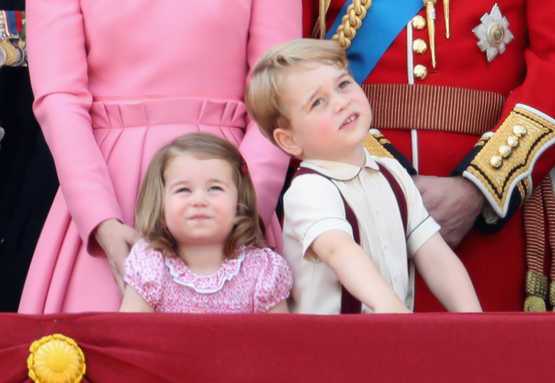 Princesa Charlotte e príncipe George (Foto: Getty Images/Chris Jackson)