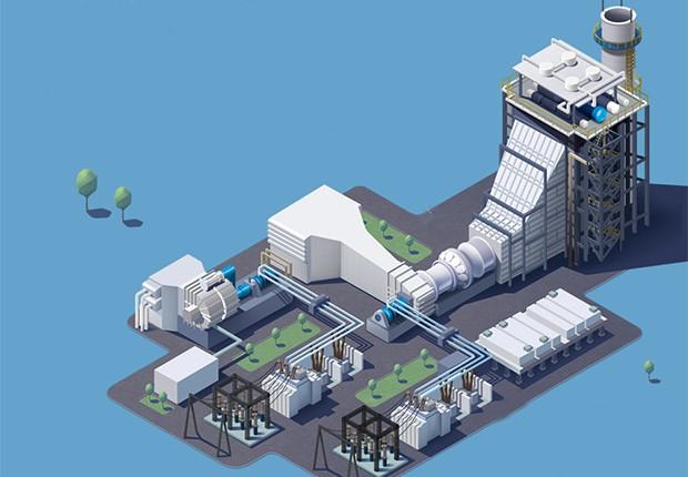 Termelétrica Sergipe CELCE (Foto: Caminhos Para o Futuro)