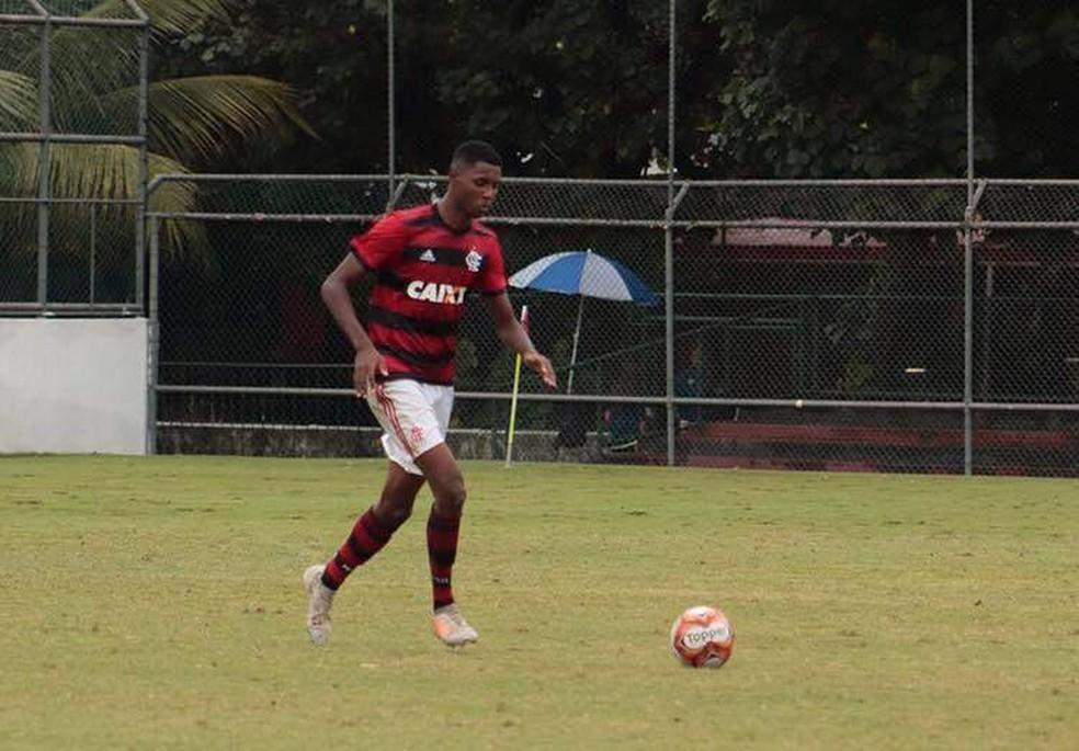 Jonatha Ventura é um dos feridos no incêndio do CT do Flamengo — Foto: Reprodução