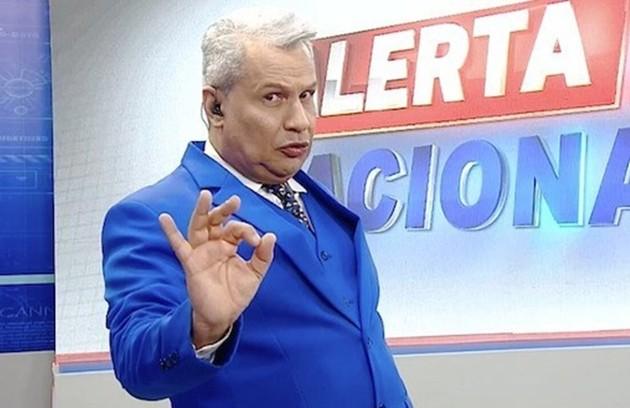 Na RedeTV!, Sikêra Jr. minimizou a pandemia até ficar doente (Foto: Divulgação)