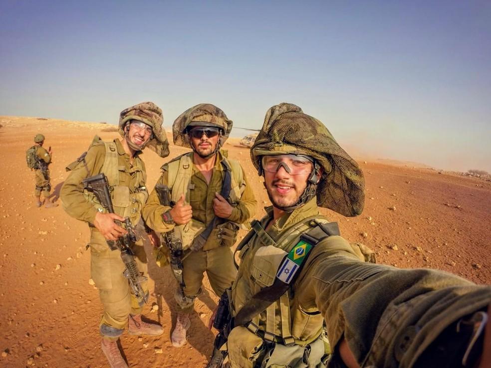 Apesar dos confrontos, Fernando afirma que vida em Israel é boa e com qualidade — Foto: Arquivo Pessoal
