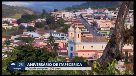 Itapecerica completa 230 anos nesta quarta-feira (20)