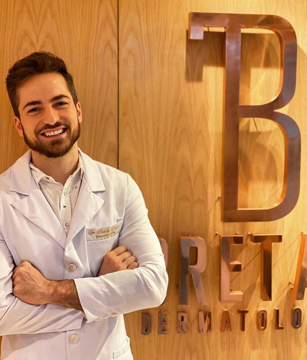 Thales Bretas: o dermatologista, que atende vários famosos, dá dicas — Foto: Reprodução/Instagram