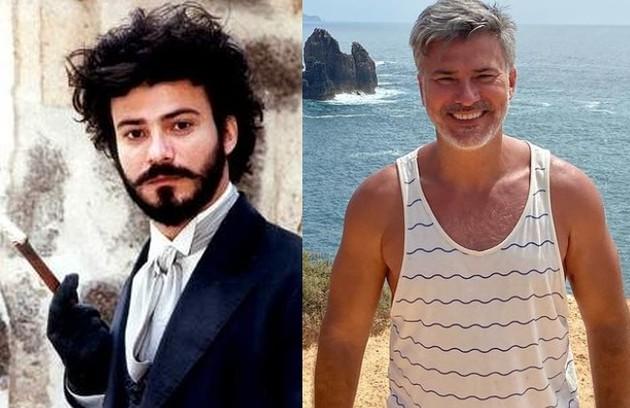 Leonardo Vieira foi Pedro Maia, que se casou com Maria Monforte (Simone Spoladore), mas foi traído por ela e se matou. Hoje, ele vive em Portugal e está longe da TV desde 2016 (Foto: Reprodução)