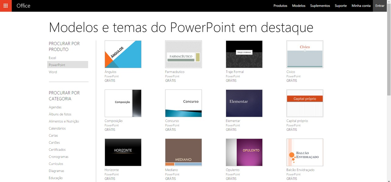 Powerpoint templates download techtudo como baixar e usar templates prontos no powerpoint toneelgroepblik Images
