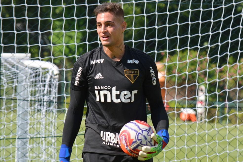 Jean tem sido reserva do São Paulo em 2019 — Foto: Érico Leonan/saopaulofc.net