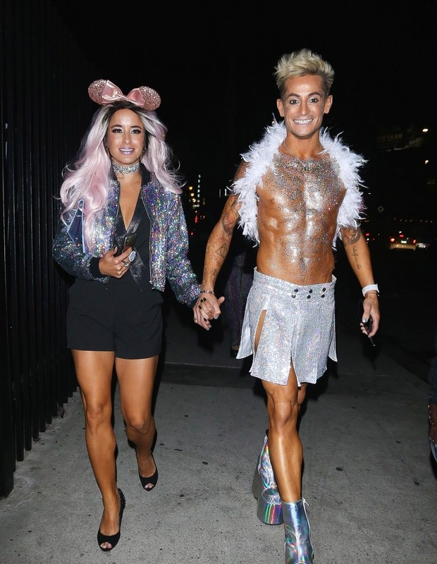 Los Angeles, CA  - Frankie J. Grande dresses up for a halloween as a sparkling fairy.Pictured: Frankie J. GrandeBACKGRID USA 27 OCTOBER 2018 USA: +1 310 798 9111 / usasales@backgrid.comUK: +44 208 344 2007 / uksales@backgrid.com*UK Cli (Foto: GIO/YOLO / BACKGRID)