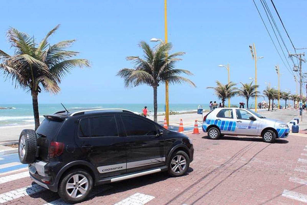 Avenida Atlântica, em Macaé, RJ, será interditada a partir desta quinta