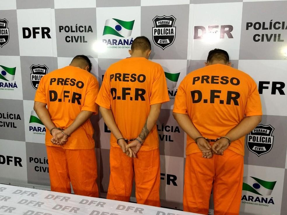 Suspeitos de participação em quadrilha especializada em roubo de relógios de luxo foram presos entre terça (6) e quinta-feira (8) (Foto: Divulgação/Polícia Civil)