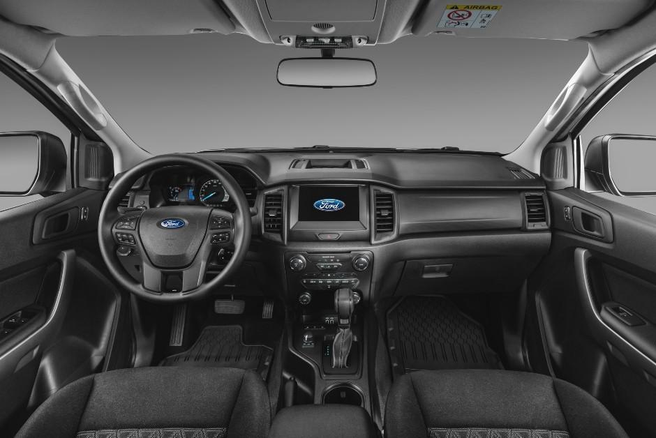 Ford Ranger Storm - Painel  (Foto: Divulgação)