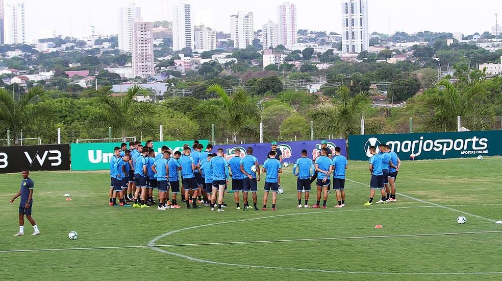 Goiás escala com força máxima na Copa Verde — Foto: Rosiron Rodrigues / Goiás E.C