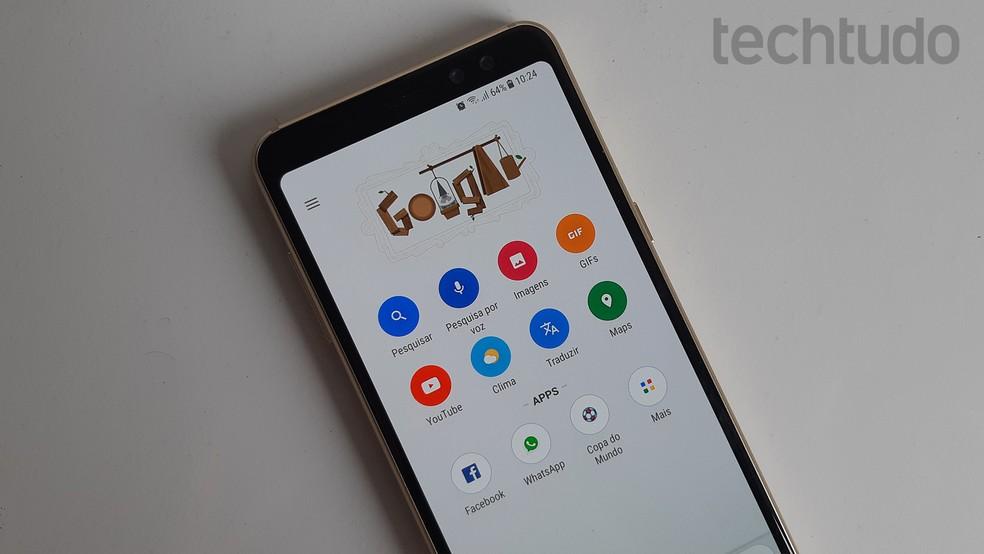 Google passou por polêmica ano passado por rastrear usuários sem permissão — Foto: Bruno De Blasi/TechTudo