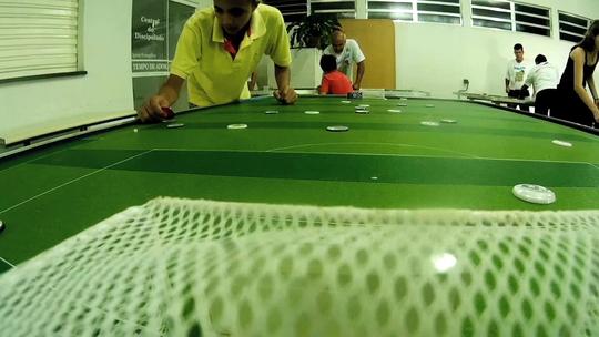 'Plugue' mostra que futebol de botão está 'Fazendo a Diferença' em Resende