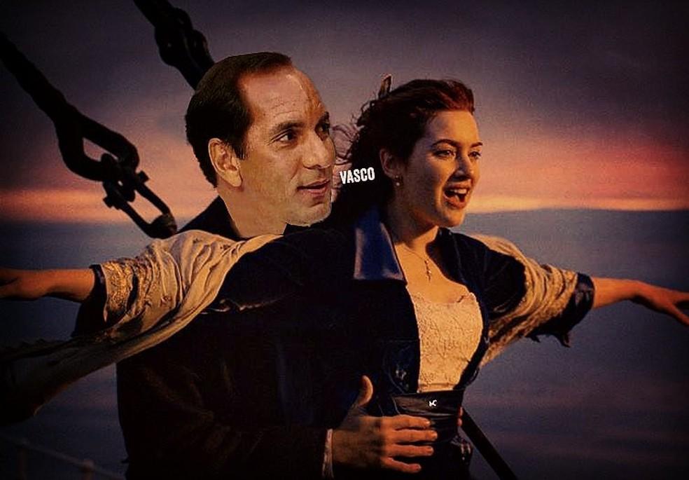 """Edmundo vira personagem de """"Titanic"""" — Foto: Reprodução"""