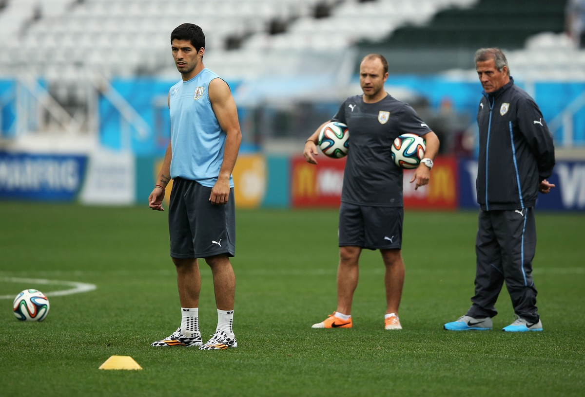 7a9e0273e1 El-Hadary e Tabárez  os mais velhos da Copa se encontram em Egito x Uruguai