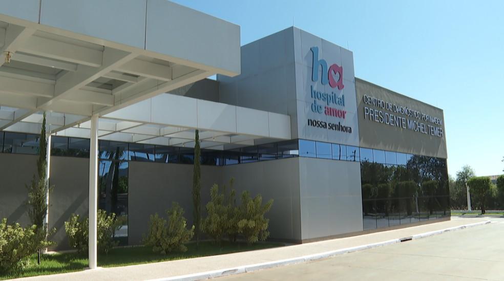 Hospital de Amor, de Barretos (SP), suspende atendimentos ambulatoriais e hospitalares — Foto: Sérgio Oliveira/EPTV