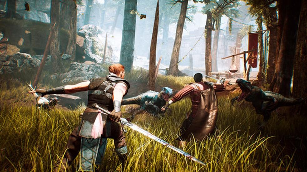 Gothic é um RPG de fantasia medieval que ganhará um remake no PlayStation 5 após uma demo de sucesso no Steam — Foto: Reprodução/Steam