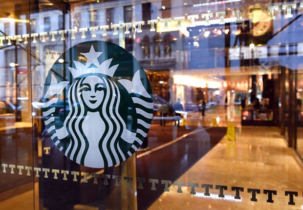 Loja da rede Starbucks (Foto:  Timothy A. Clary/AFP/Getty Images)