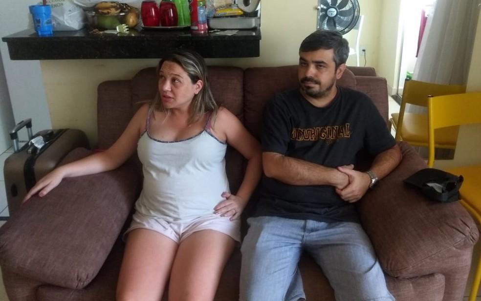 Casal foi preso em aparatamento de Goiânia — Foto: Polícia Civil/Divulgação