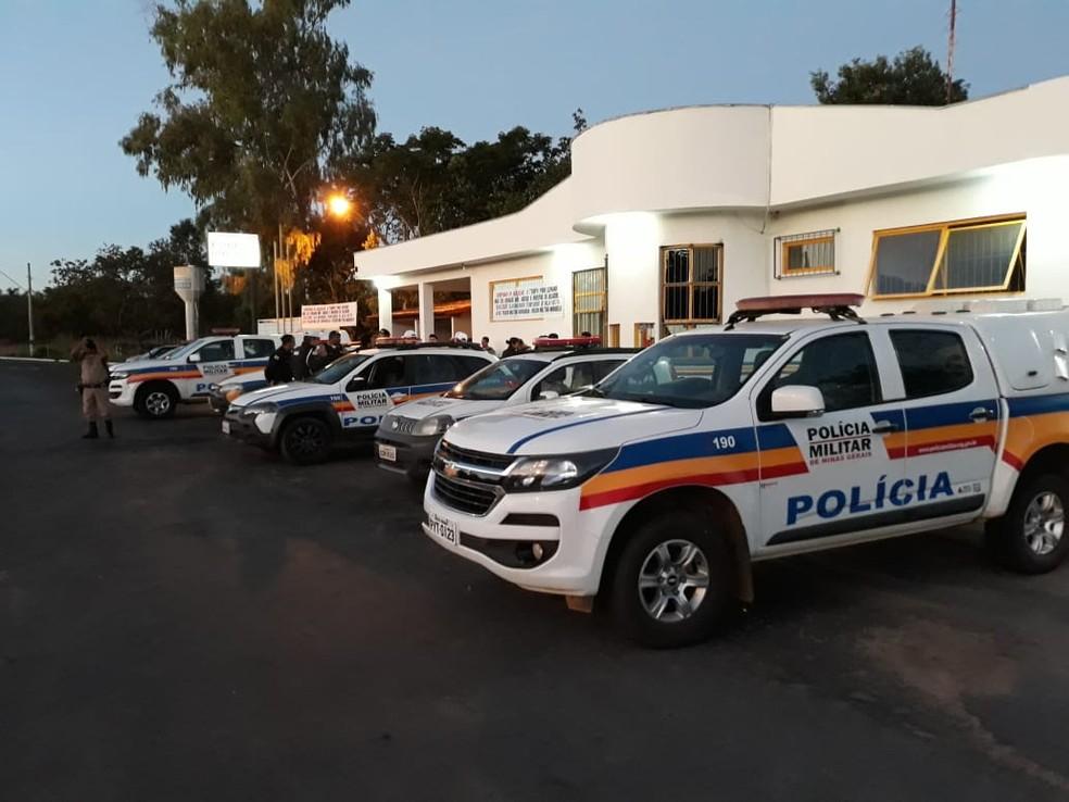 Operação foi realizada nesta terça-feira (12) (Foto: Polícia Militar/ Divulgação)