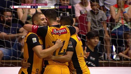 Sorocaba atropela Joinville no primeiro jogo da semifinal da Liga Nacional de Futsal