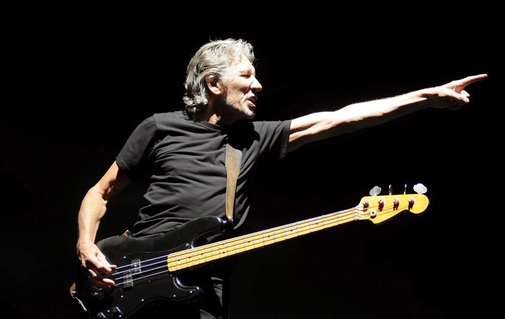 -  Roger Waters rvem ao Brasil em outubro de 2018  Foto: Alexandre Durão/G1