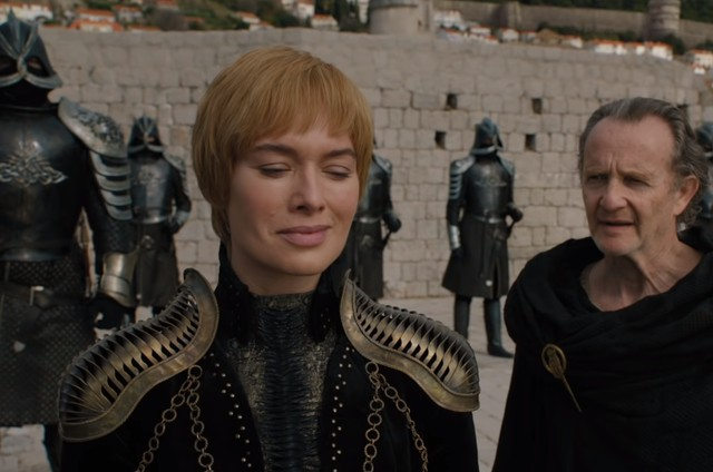 Cena do trailer da oitava temporada de 'Game of thrones' (Foto: Reprodução)