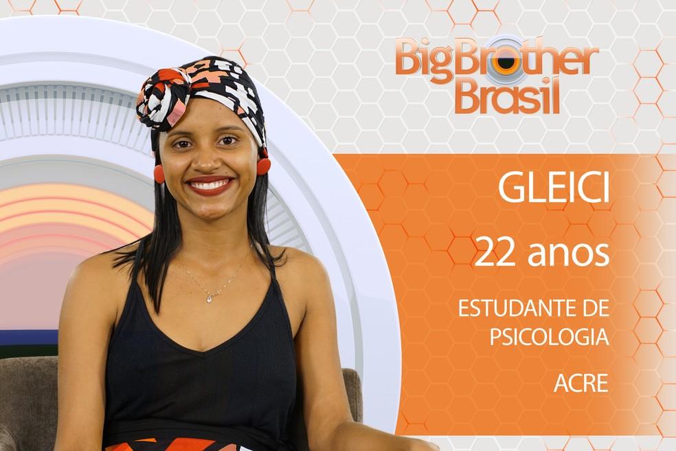 Gleici é participante do BBB18 (Foto: TV Globo)